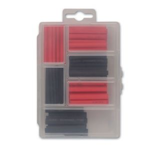 Connect 36819 60 Piece Assorted Mini Box Heat Shrink Sleeving
